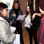 Στο Λύκειο Κωφών και Βαρήκοων Θεσσαλονίκης – Στη Σχολή Τυφλών